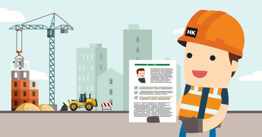 How to get a job in construction